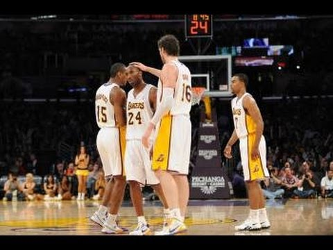 Top 10 Plays for the Los Angeles Lakers from the 2012 Season