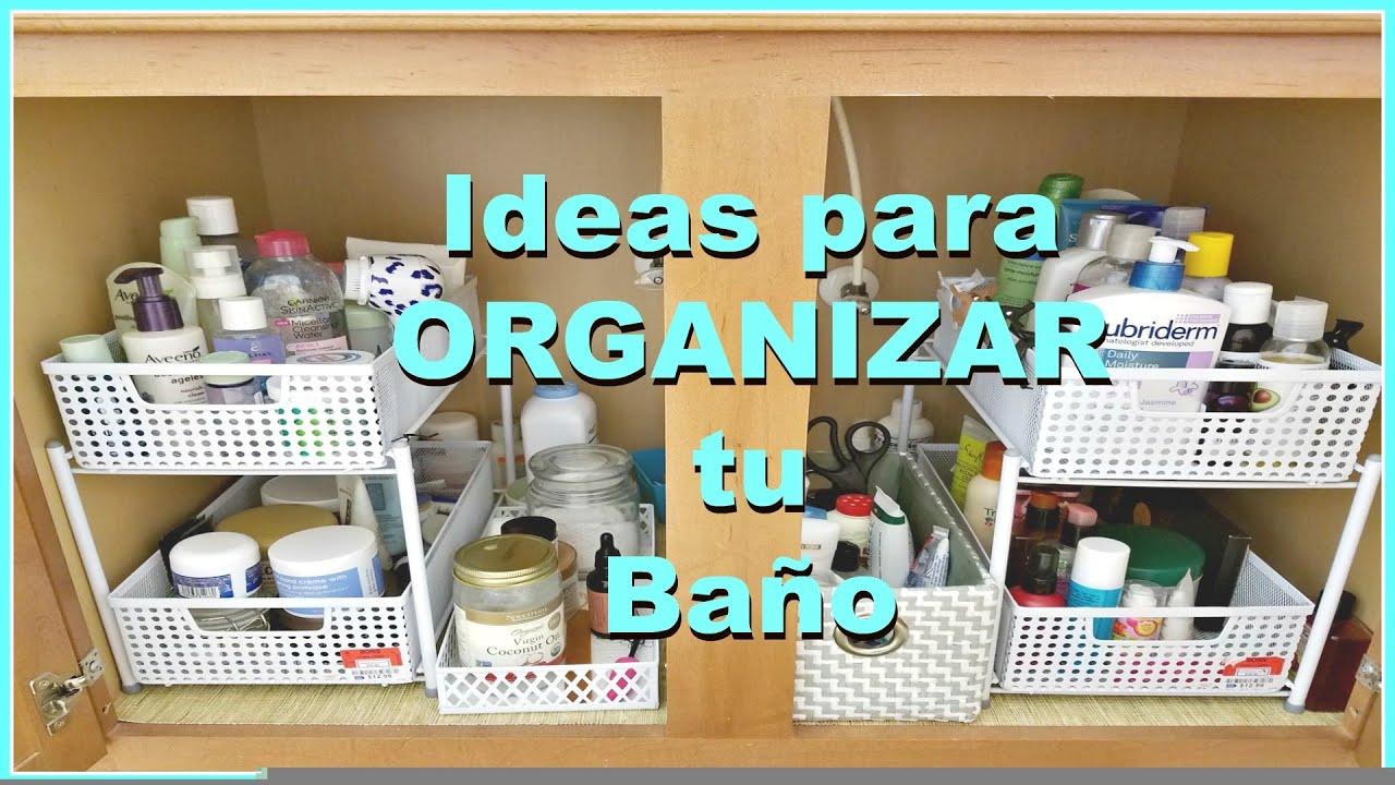 Ideas para organizar el gabinete del ba o consaborakaf - Como alicatar un cuarto de bano ...
