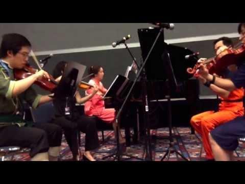 Eternal Memory of Lightwaves (FFX-2) - piano/violins/viola - live at Anime Matsuri 2015