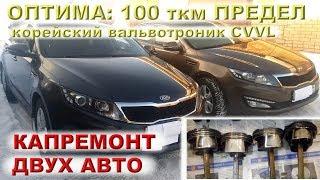 KIA OPTIMA: Дабл-трабл 2.0 CVVL (Киров + Москва)
