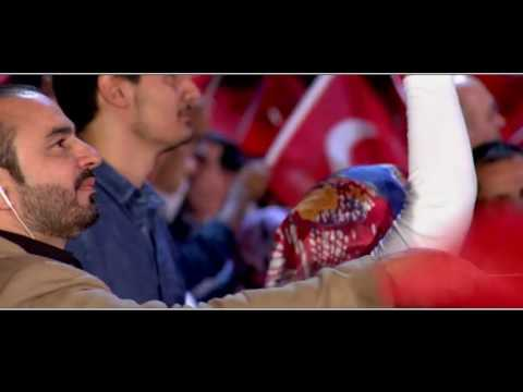 Filistinli sanatçıdan duygulandıran Türkiye'ye destek klibi Videosu