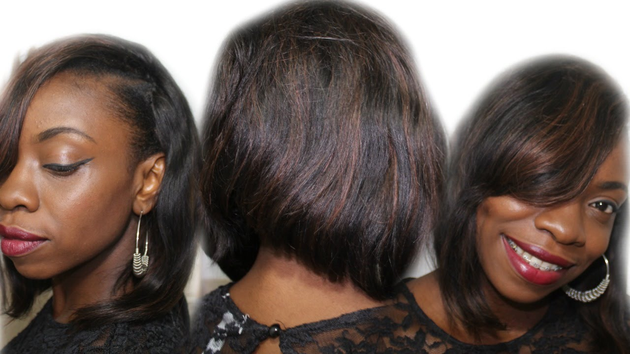 How To Make Your Old Quick Weave Look Like New Short Bob Weave
