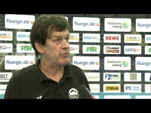 ThSV-Velimir Petkovic zum Spiel SC DHfK Leipzig vs. Eisenach (29:28)