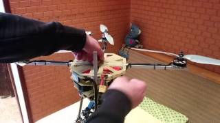 Folding quadcopter.