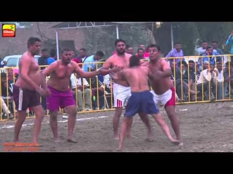 MADHO JHANDA (Kapurthala) || KABADDI CUP - 2015 || MEN's SHOW MATCH || Full HD ||