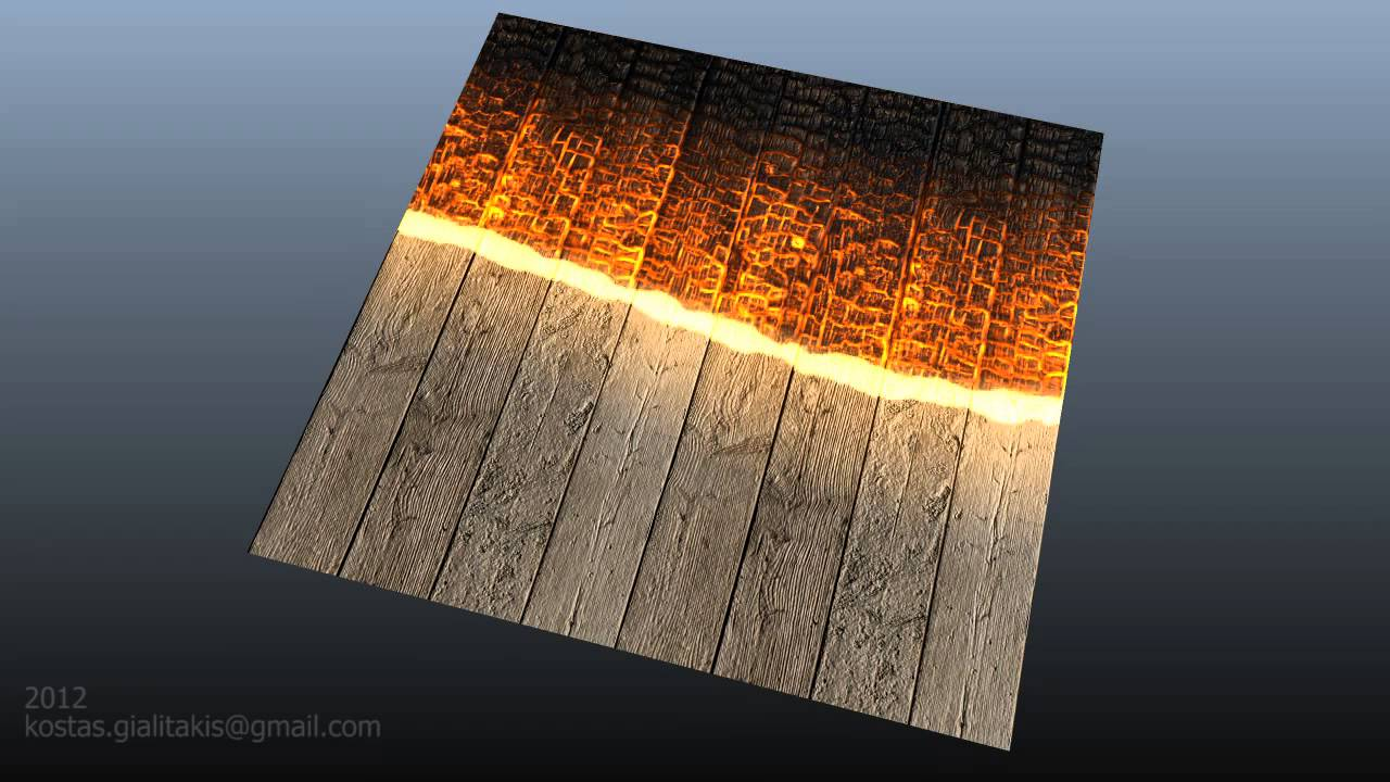 fireshader a ramp based texture transition shader with some flare