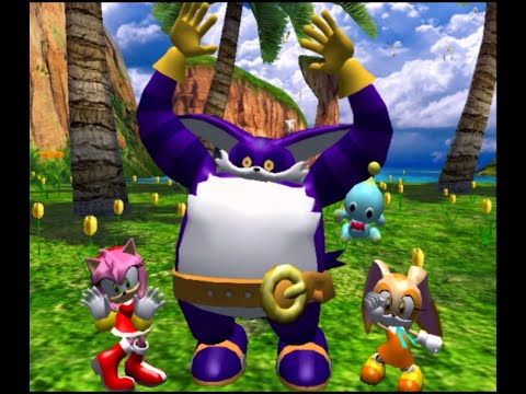 Sonic Heroes [Team Rose] (No Commentary)