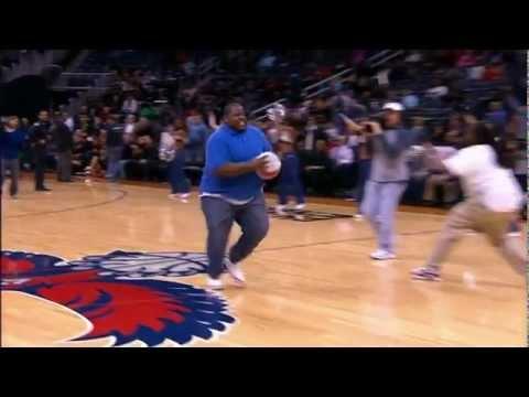 EPiC Fail*Fat Man Tries Half Court DUNK!!!!! - YouTube