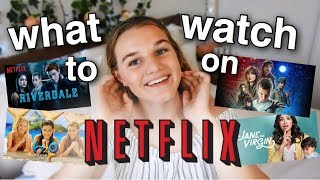 What To Watch On NETFLIX // AUSTRALIAN EDITION + my favourite shows on netflix 2018