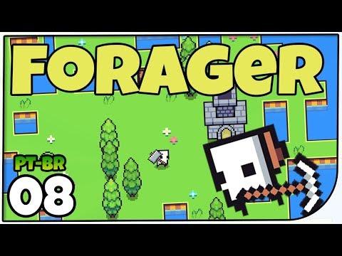 forager-#08---várias-gemas-e-jogando-conversa-fora---gameplay-em-português-pt-br