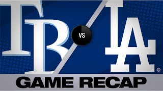 Seager leads Dodgers to win with 4-RBI game | Rays-Dodgers Game Highlights 9/17/19