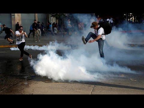 الجيش في  تشيلي يتحمل مسؤولية ضمان الأمن في العاصمة بعد مواجهات مع الشرطة…  - نشر قبل 7 ساعة