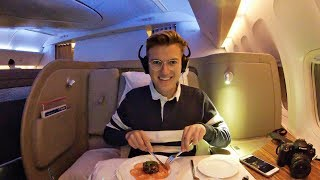 The Best First Class Flight In North America