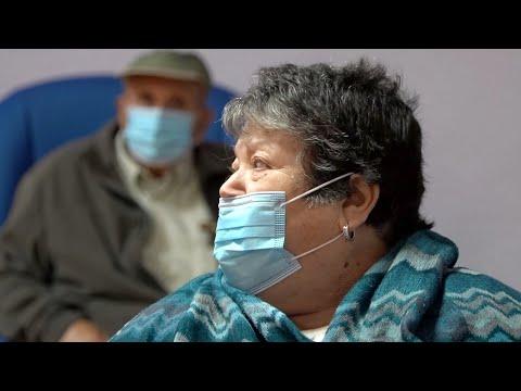 osefa, de 83 años, primera vacunada contra la Covid en la Región de Murcia