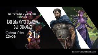 Brushwork Atelier entrevista - Rael Lyra, Victor Quaresma e Gui Guimarães