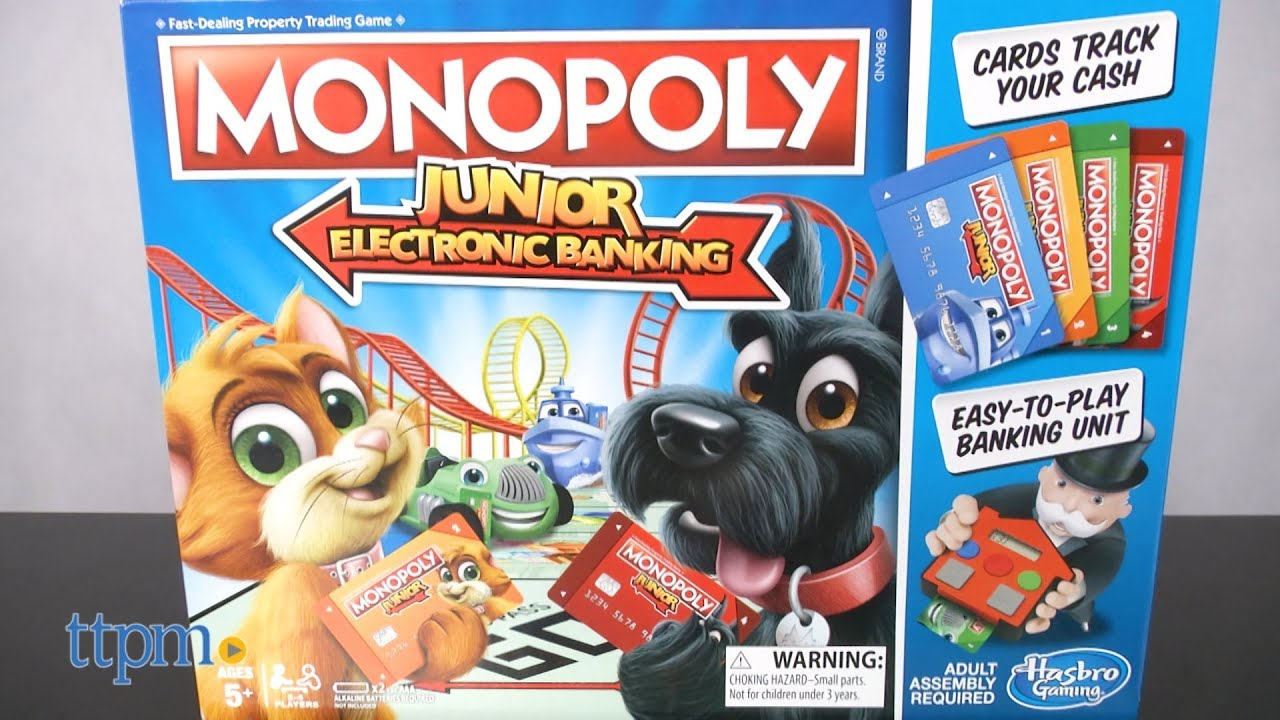 Monopoly Junior: A Kids Version of the Classic Family Game advise