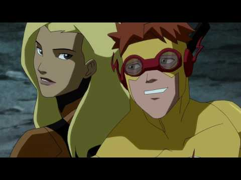 Young Justice Season 2  Kid Flash & Artemis  All Moments