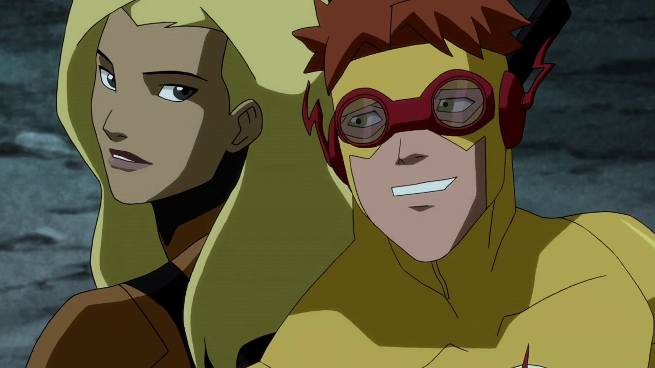 Young Justice Season 2 |Kid Flash & Artemis |All Moments ...