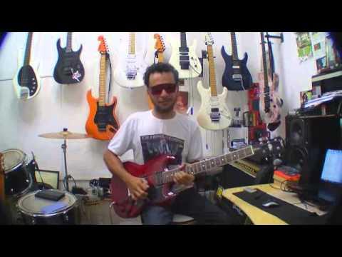 gilneyparson guitarra shelter detroit SG