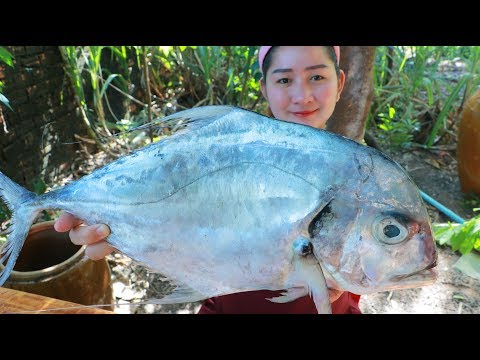 Yummy Giant Sea Fish Crispy Stir Fry – Giant Sea Fish Cooking – Cooking With Sros