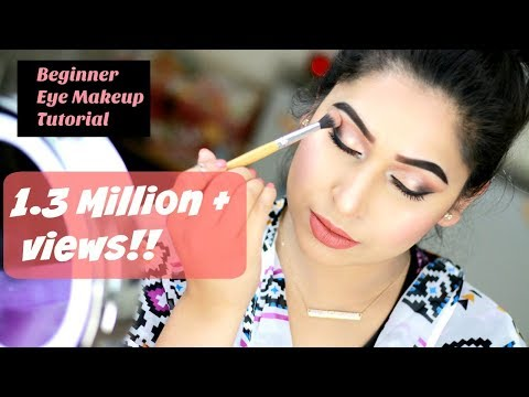 Beginner Eye Makeup Tutorial 2017