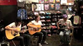 Make Believe - Acoustic at Hot Topic