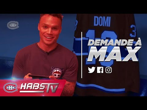 Max Domi answers fan questions