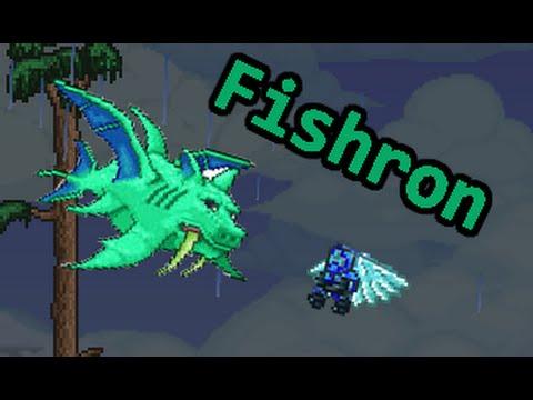 terraria how to kill duke fishron easy