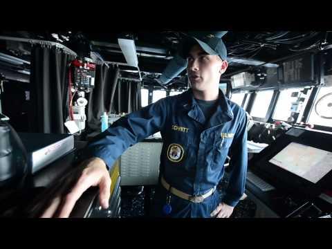 USS Gravely (DDG 107) operating in the Eastern Mediterrainean