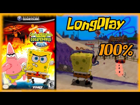 The SpongeBob SquarePants Movie Game -  Longplay 100% Full Game Walkthrough (No Commentary)