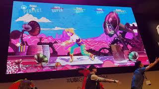 Just Dance 2018 - John Wayne - Lady Gaga - FULL GAMEPLAY 4K - Gamescom 2017