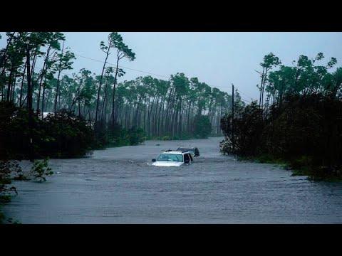 Hurricane Dorian batters the Bahamas, killing five