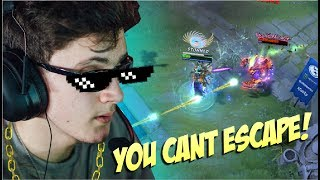 FOUNTAIN DIVER - Miracle Ursa Dive in Fountain for Win Epicenter 7.06 - Top Pro Player Dota 2