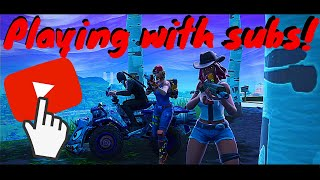 Playing with Subscribers!!