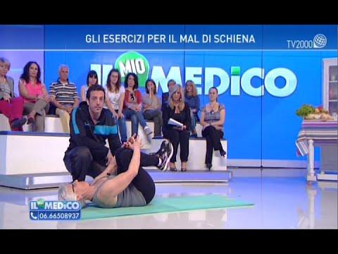 """""""Il mio Medico"""" - Gli esercizi per il mal di schiena - YouTube"""