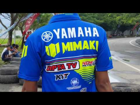 Reza Fahlevy 75 kuasai mp5 kejurda roadrace seri 4 imi aceh distadion Harapan Bangsa Banda Aceh