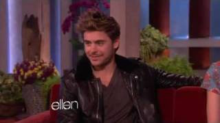 Zac efron and Taylor swift -Ellen DeGeneres interviews part 1.flv