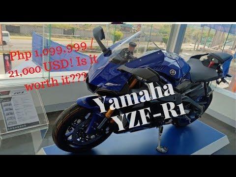 NEW YAMAHA YZF-R1 AVAILABLE NOW | PRICE AND REVIEW | Visit at Revzone Daang Hari big bike showroom