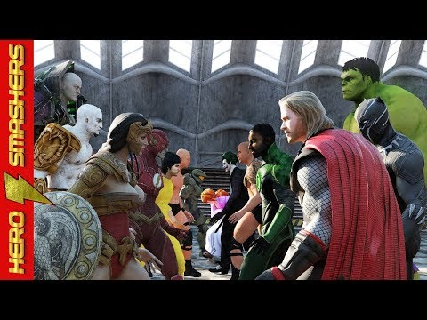 Thor vs Wonder Woman vs Hulk vs Black Panther vs Aquaman vs The Flash vs Neo vs Kratos vs Darkseid thumbnail