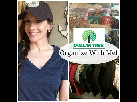 Organize With Me | DOLLAR TREE Storage + Hat Organizer!