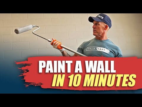 Rolling Walls Fast How To Paint Room In Hour Fast Painting Hacks Diy House Painting