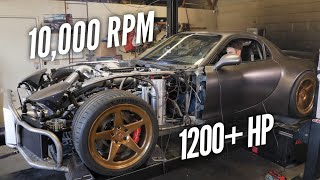 THE HIGHEST HP STREET ROTARY.  INSANE DYNO RESULTS