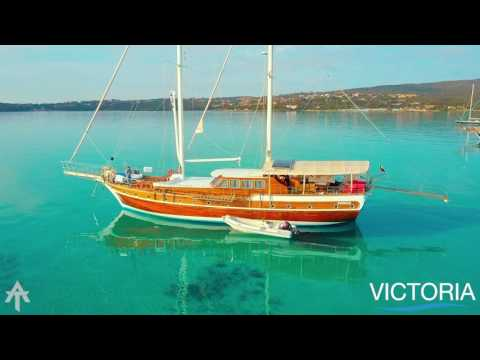Luxury Sailing Holidays in Italy and France with Gulet Victoria - Yacht Boutique