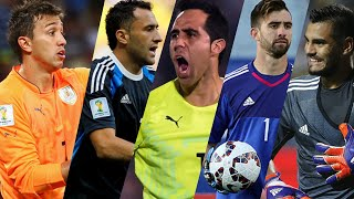 Best Goalkeeper Saves - Copa America 2015 HD