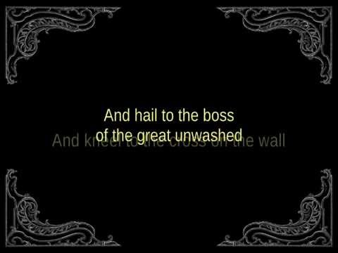 Agalloch - kneel to the cross (lyrics)
