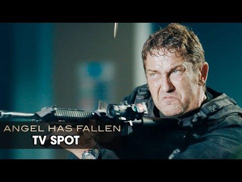 "Angel Has Fallen (2019 Movie) Official TV Spot ""Bang"" — Gerard Butler, Morgan Freeman"