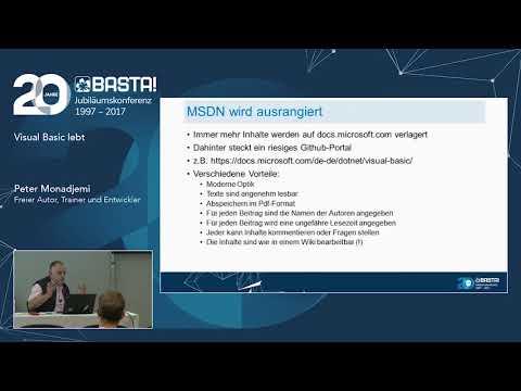 Visual Basic Lebt - Der Aktuelle Stand Am Beispiel Von .NET Core 2.0
