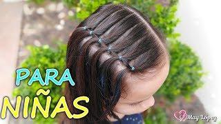 Imagenes de peinados para niña