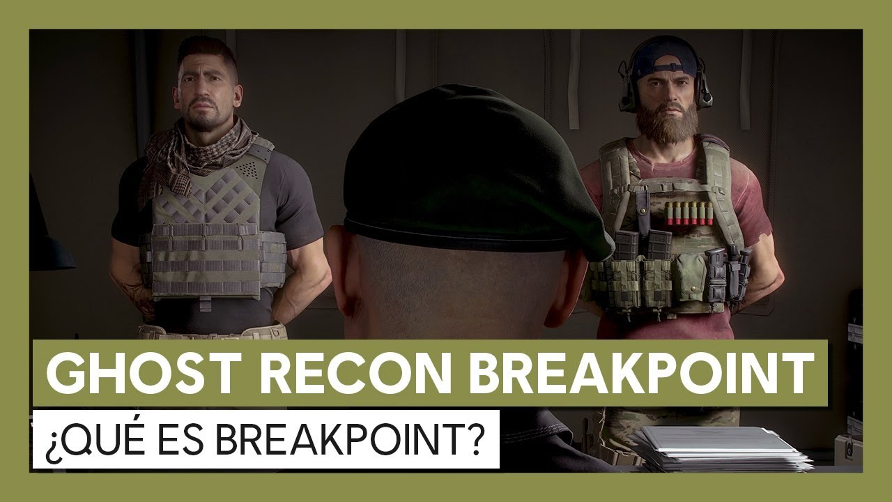 Ghost Recon Breakpoint: ¿Qué es Breakpoint? Tráiler Gameplay