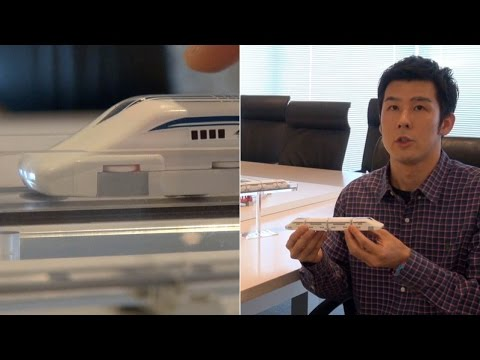 Linear Liner: Maglev toy train by Tomy